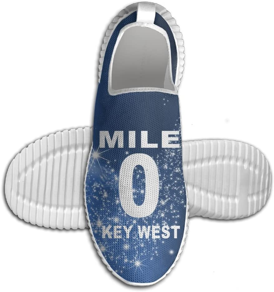 Mile 0 Key West Lightweight Breathable Casual Running Shoes Fashion Sneakers Shoes