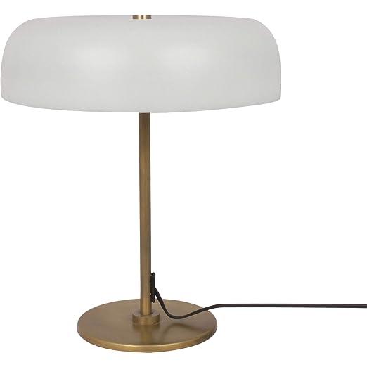 Amazon.com: Murville - Lámpara de mesa (latón envejecido ...