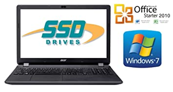 Ordenador Portatil Acer 2508 ~ 128 GB SSD ~ 8 GB Memoria ~ Windows 7 Prof