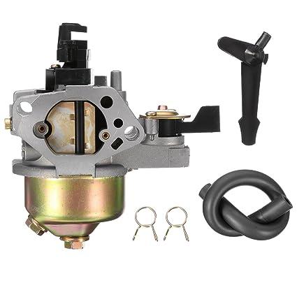 WCHAOEN Carburador Carb Césped para HONDA GX390 13 HP Motor 16100 ...
