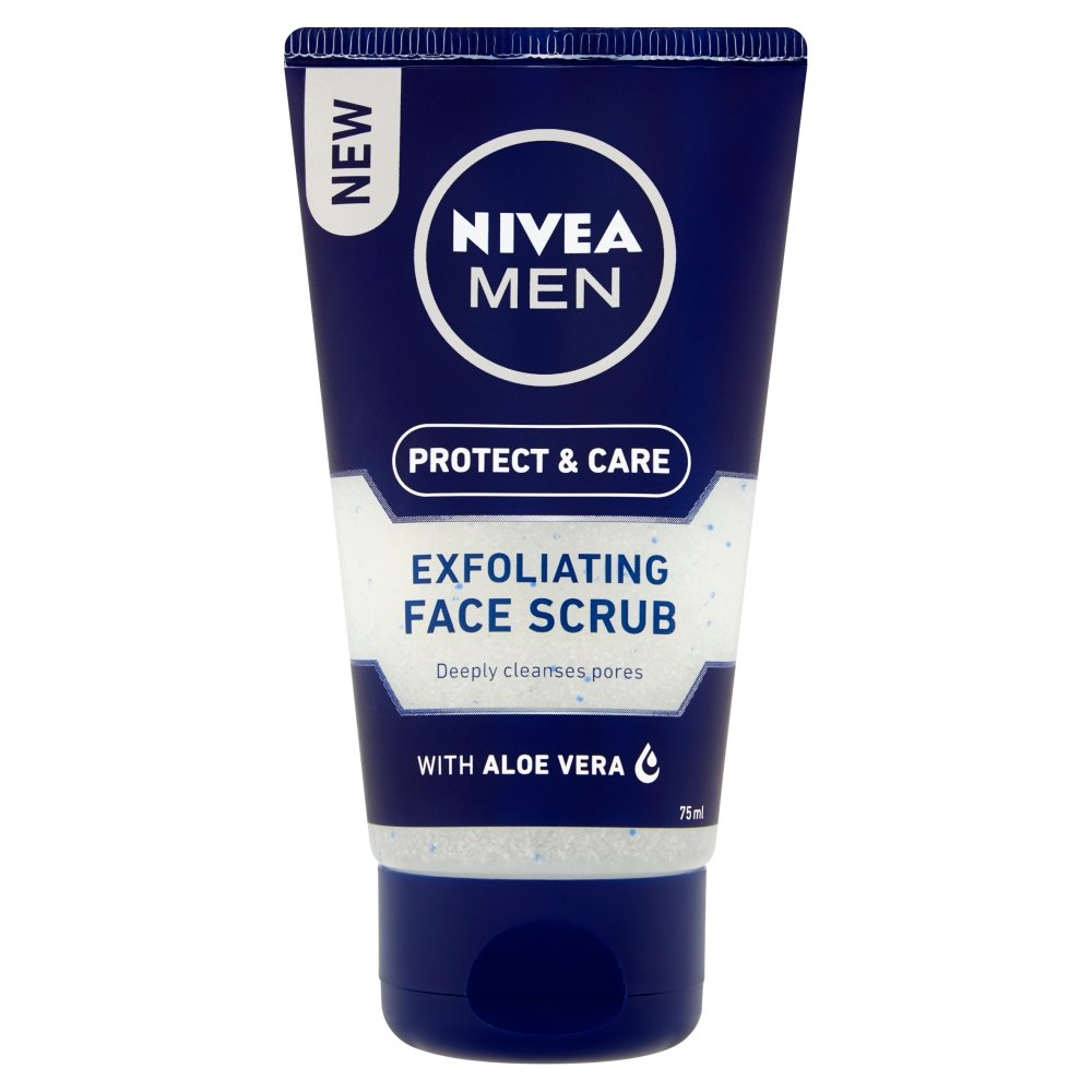 Nivea men - Exfoliante facial, pack de 3 (3 x 75 ml) Beiersdorf 81351
