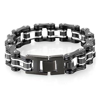 Ketten armband  YSM Heavy-Duty-Armband-Motorrad-Stulpe-Armband-316L-Edelstahl ...