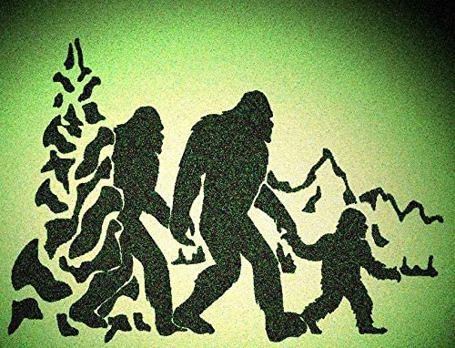 Bigfoot Stencil Selection