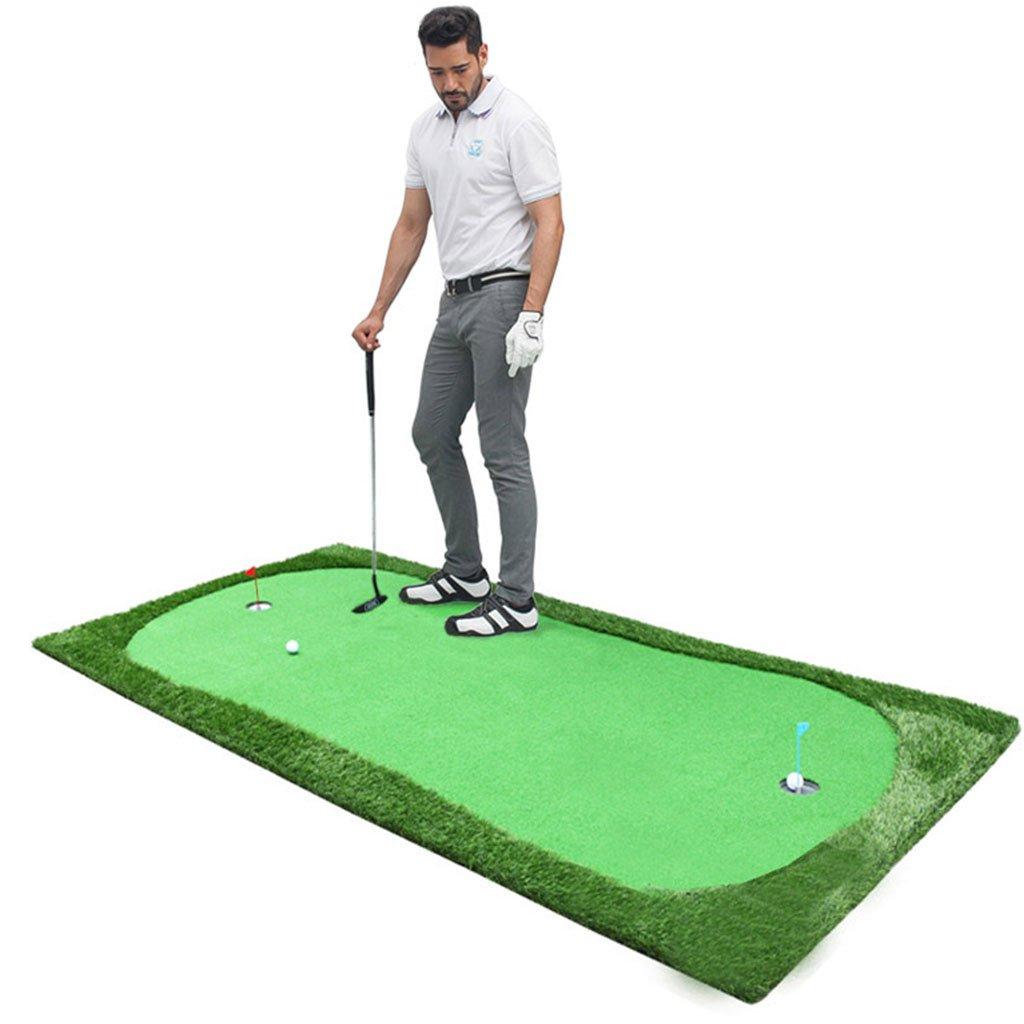 XINGZHE ゴルフマット - ゴルフパッティンググリーン屋内ゴルフ練習ファミリーゴルフ練習ブランケット人工グリーンはカスタマイズすることができます トレーニング機器