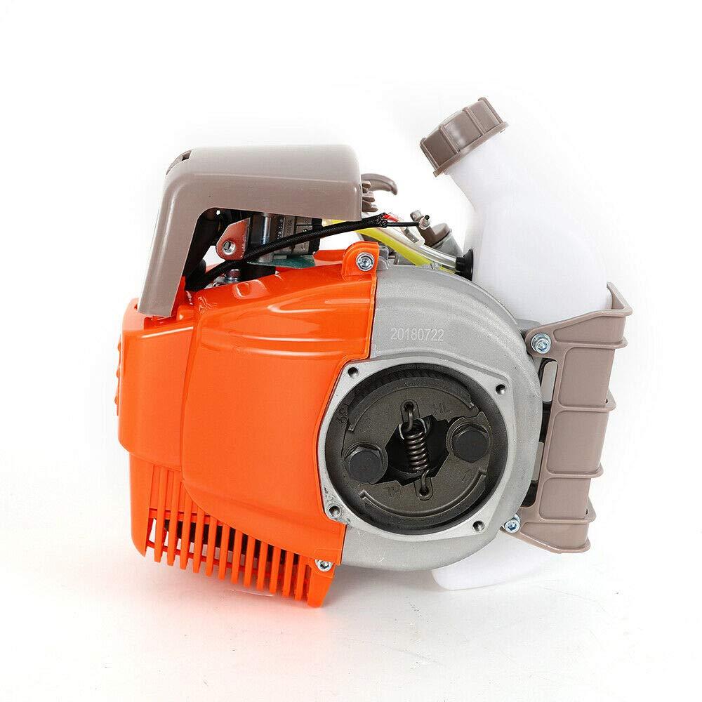 31CC Gasoline Garden Brush Cutter, 4 Stroke Brush Cutter Engine Motor, Grass Trimmer Lawn Yard Mower, Air-Cooled 139F Pump Film Type 3526mm Pipe Diameter 6500r/min Garden Tool