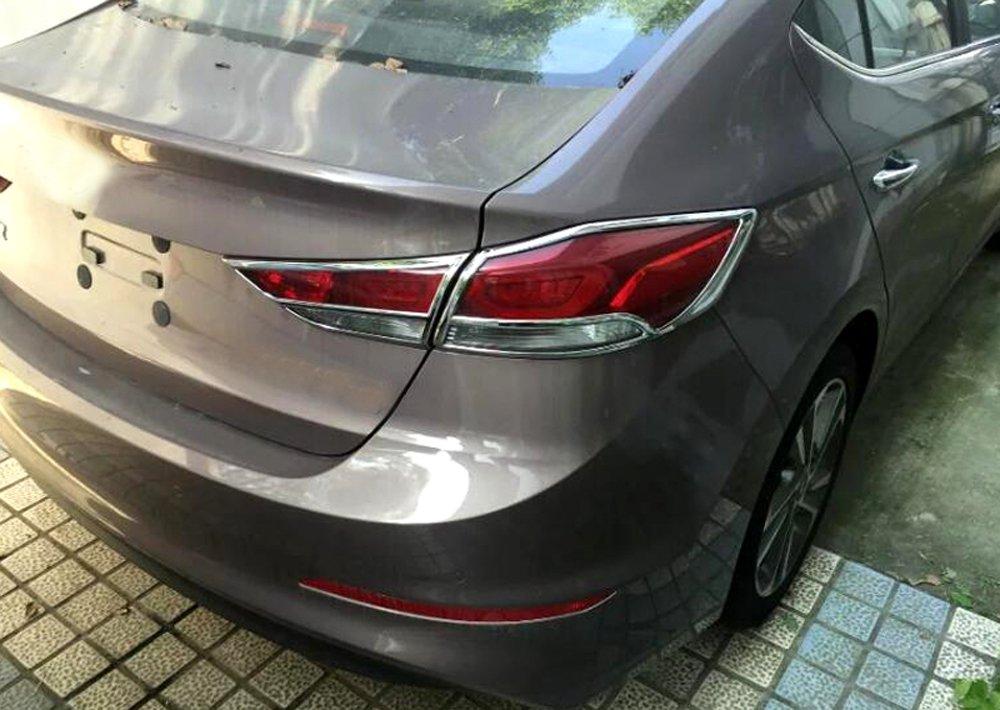 HIGH Flying ABS Chrome Rear Taillight Decoration Trim Frame 4PCS for Hyundai Elantra 2017 2018 2019