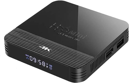 Android 9.0 TV Box Smart Media Box 2GB RAM 16GB ROM RK3228A Quad Core Bluetooth 4.0 WiFi 2.4G & 5G Ethernet 2USB Set Top Box Support 4K Ultra HD Internet Video Player: