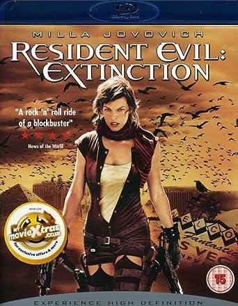 Resident Evil: Extinction [Reino Unido] [Blu-ray]: Amazon.es ...