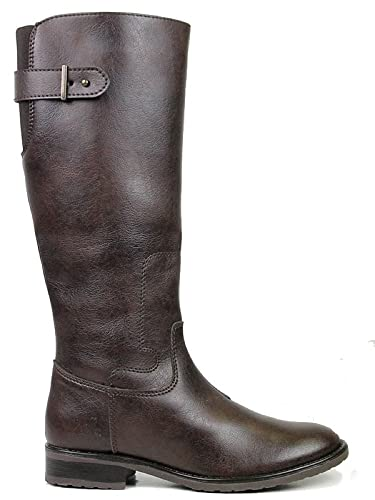 77e0846af49 Will s Vegan Shoes Knee Length Boots Dark Brown  Amazon.co.uk  Shoes ...