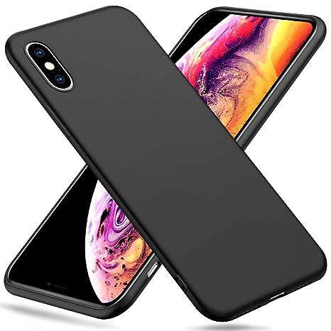 coque iphone xs souple noir