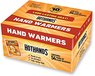 product image for HotHands Hand Warmers - Long Lasting Safe Natural Odorless Air Activated Warmers - 54 Pairs (54 Pairs of Hand Warmers)