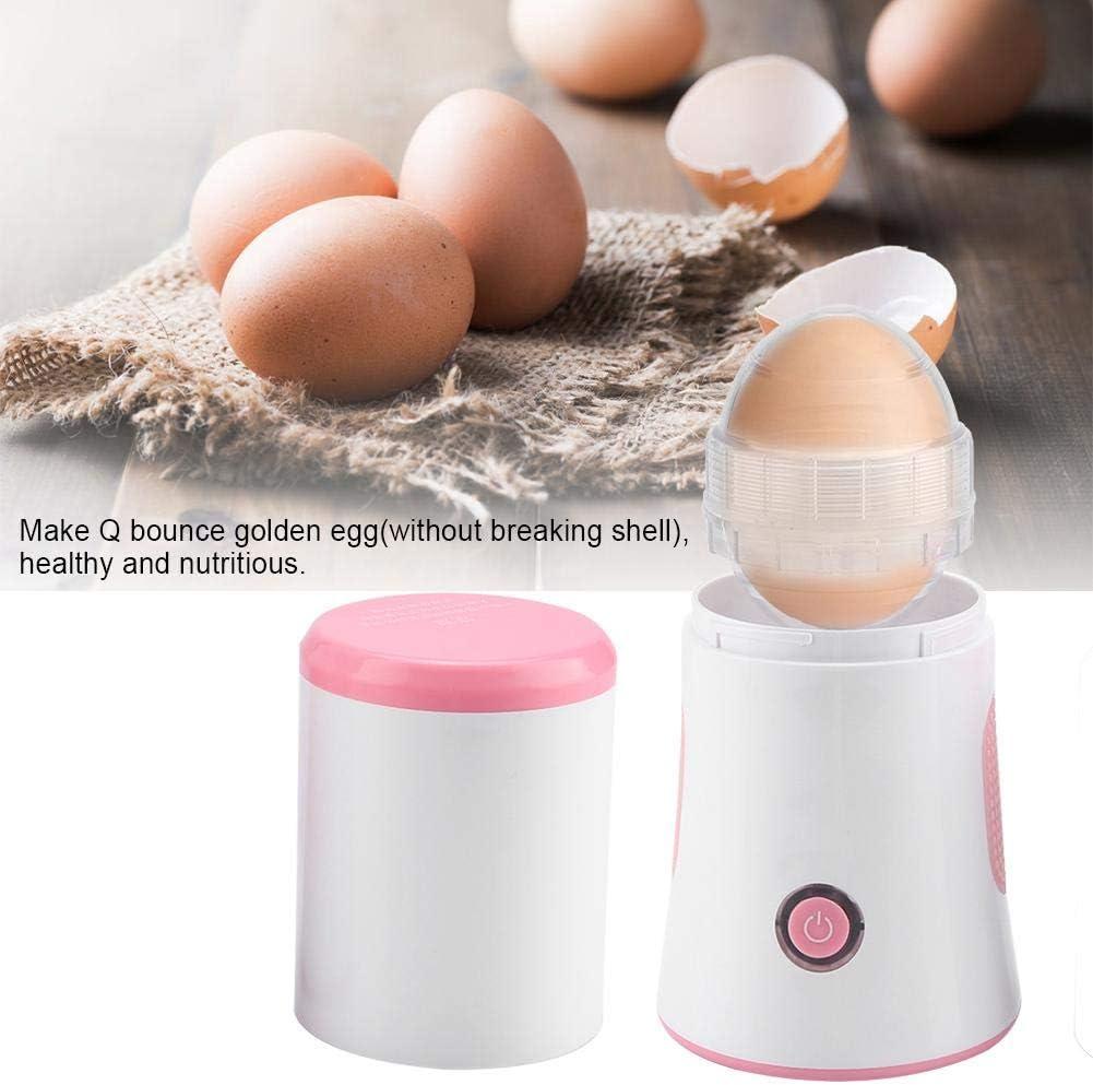 Rascador de huevos, recolector automático de huevos en concha eléctrica para hacer huevos de mezcla rápida de yema y proteína Scrambler en concha ...