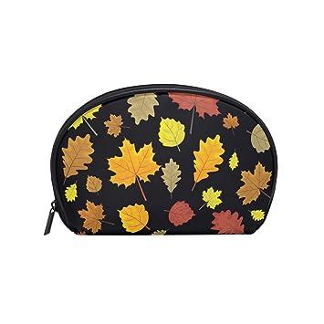 4f2137ac85f3 Amazon.com : Canadian Maple Leaf Sticker Women's small cosmetic case ...
