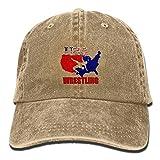 Arsmt USA Wrestling Denim Hat Adjustable Men's Plain Baseball Hat