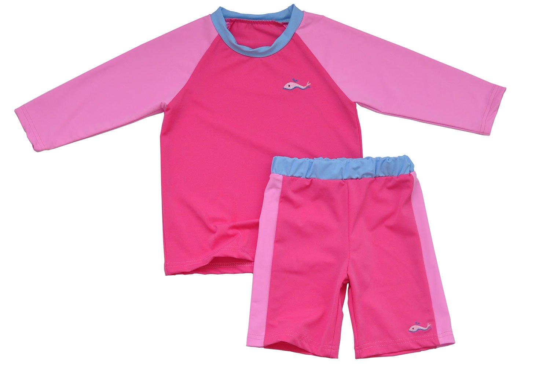 Ozkiz Girls Dolphin Spandex Rash Guard Style Little Kids Toddler Size 5