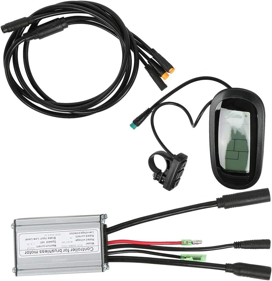 """V GEBY 36V 250W 20/""""KT-LCD6 LCD Instrument Bike Mountain Bicycle Conversion Waterproof Electric Kit Powerful Controllers"""
