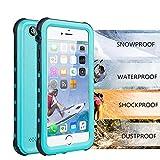 iPhone 6/6s Waterproof Case, Underwater Full Sealed Cover Snowproof Shockproof Dirtproof IP68 Certified Waterproof Case for iPhone 6/6s 4.7 inch
