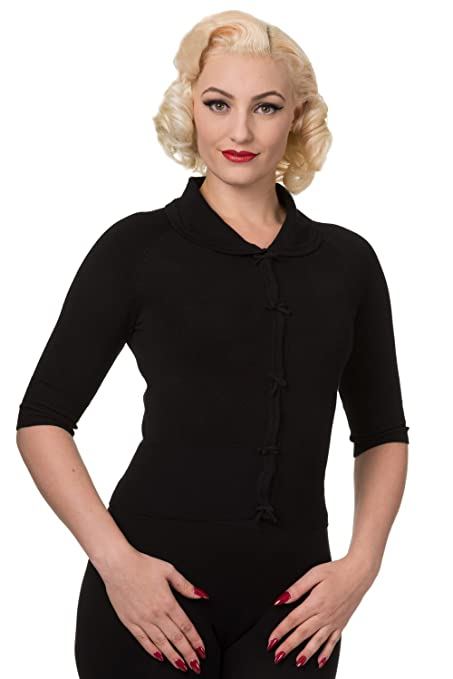 1950s Style Sweaters, Crop Cardigans, Twin Sets Short Sleeve Cardigan $40.43 AT vintagedancer.com