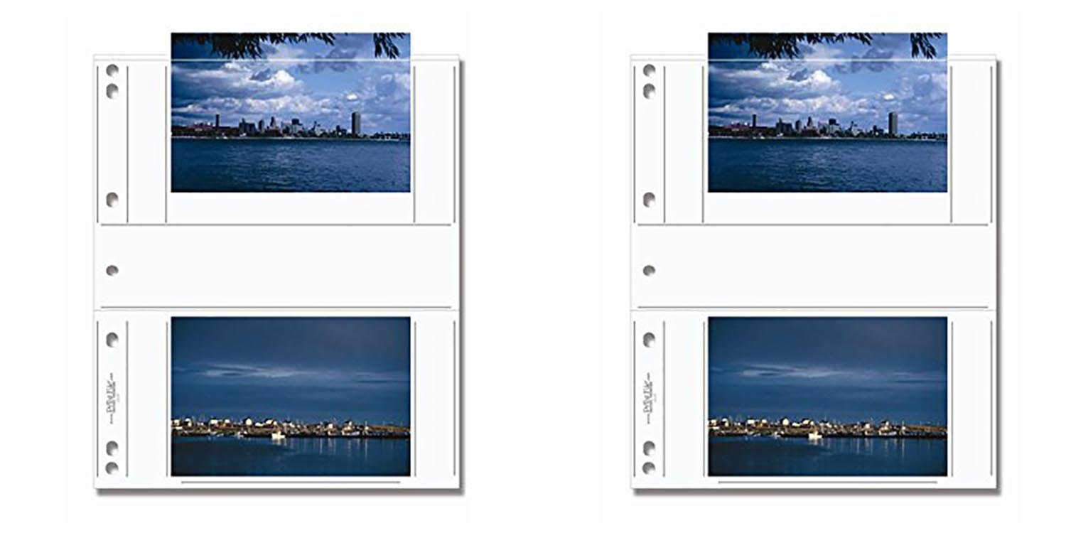 Print File 46-4P 4x6 Print Preservers (25 Pages) 2pack