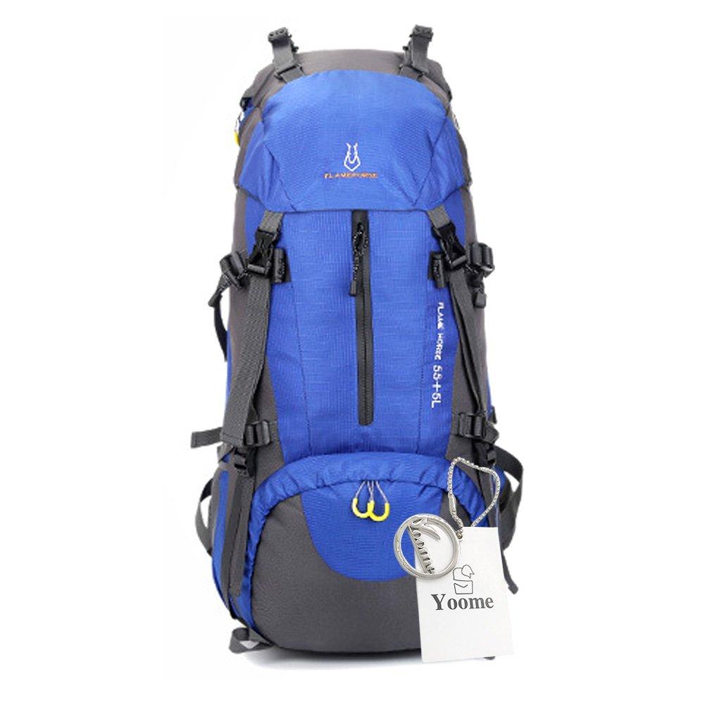 Yoome 60L Interner Rahmen Rucksack Wandern Rucksack Packs für ...