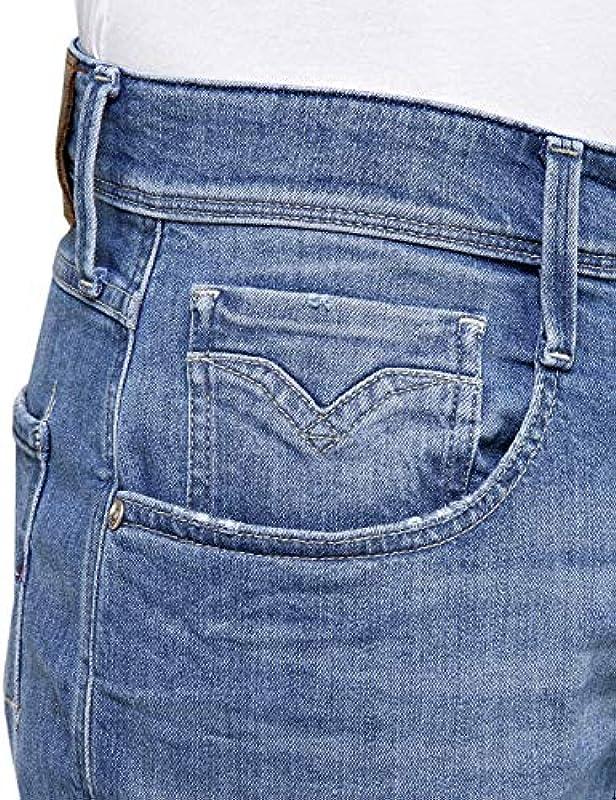 Replay Męskie dżinsy Anbass Slim: Odzież