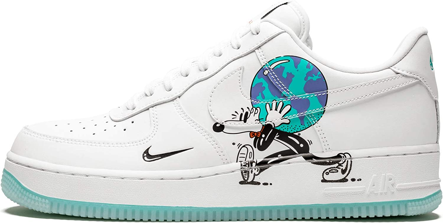Amplificador vitalidad Regularidad  Nike AIR Force 1 Low FLYLEATHER QS 'Steve Harrington Earth Day' -  CI5545-100: Amazon.ca: Shoes & Handbags