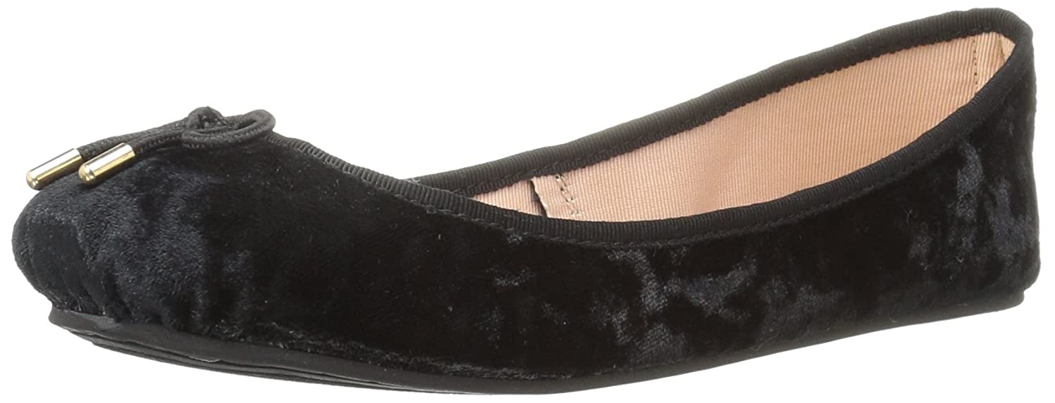 LFL by Lust for Life Women's Tinker Ballet Flat B074VF4M52 8 B(M) US|Black/Black