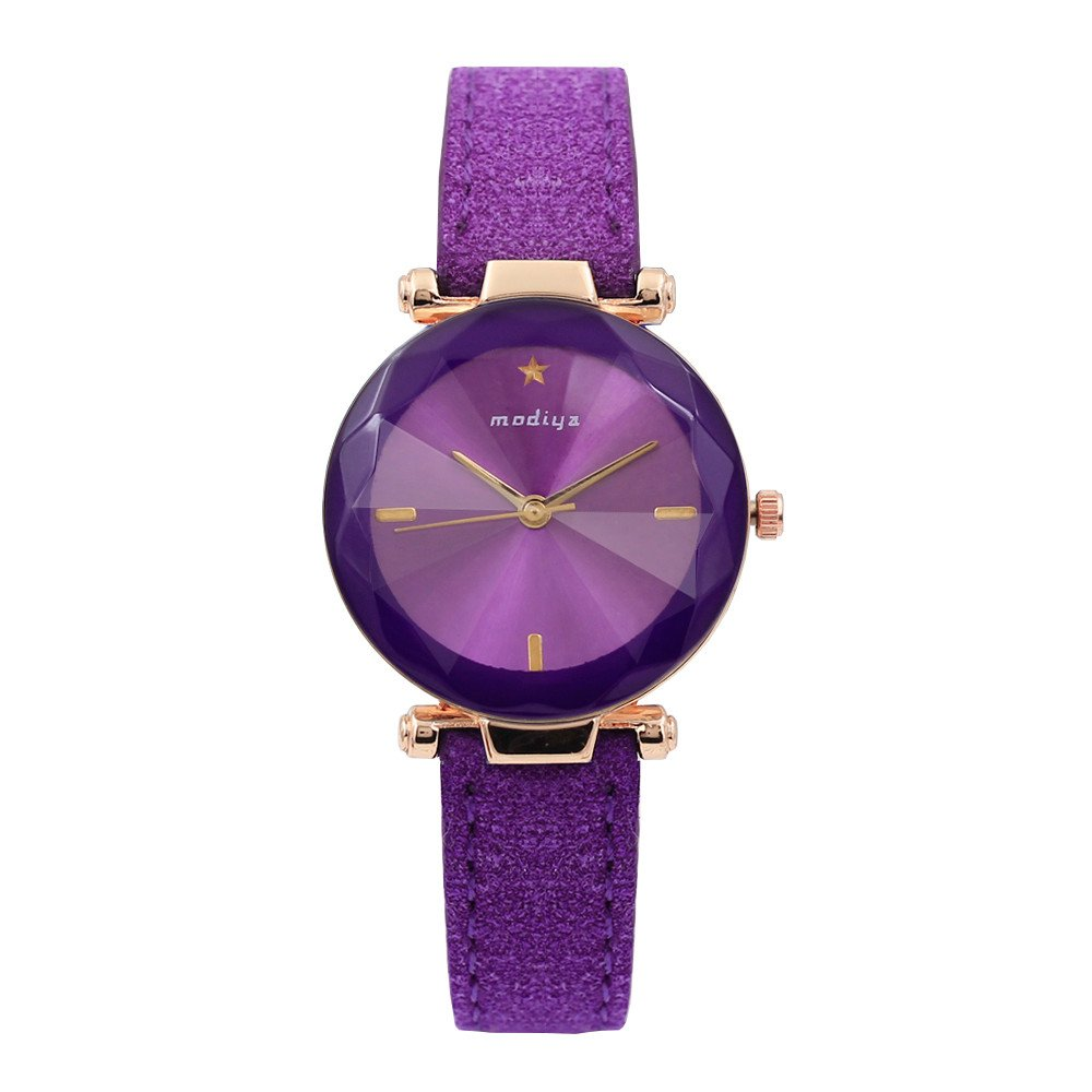 Kinlene Relojes mujer,Fashion Color Strap Digital Dial Banda de cuero analogico de cuarzo relojes de pulsera (Green): Amazon.es: Relojes