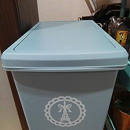 Amazon ゴミ箱 スライドペール 30l 日本製 ブルー フタ付きゴミ箱 オンライン通販