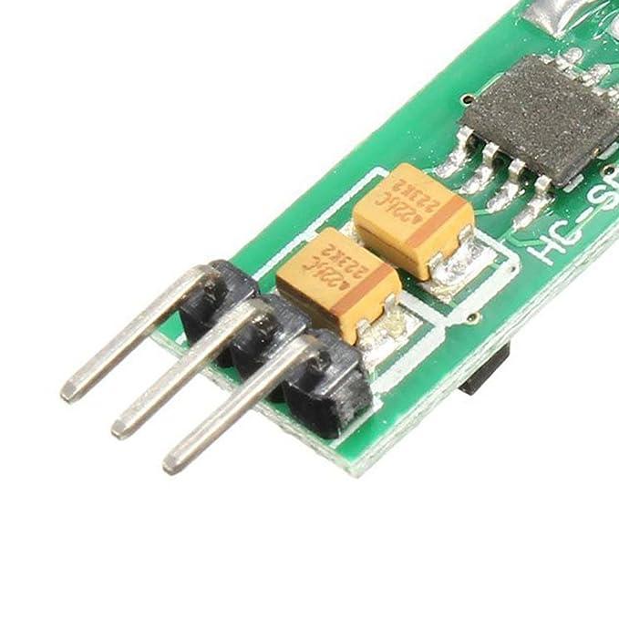 Bobury HC-SR505 Mini Módulo Infrarrojo Infrarrojo Del Detector De Movimiento Del PIR nuevo: Amazon.es: Bricolaje y herramientas