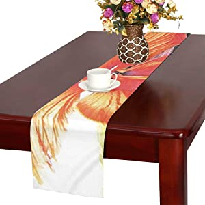 Flower Native Flora Cuba Cayo Largo Nature 1170789 Table Runner, Kitchen Dining Table Runner 16 X 72 Inch for Dinner Parties, Events, Decor