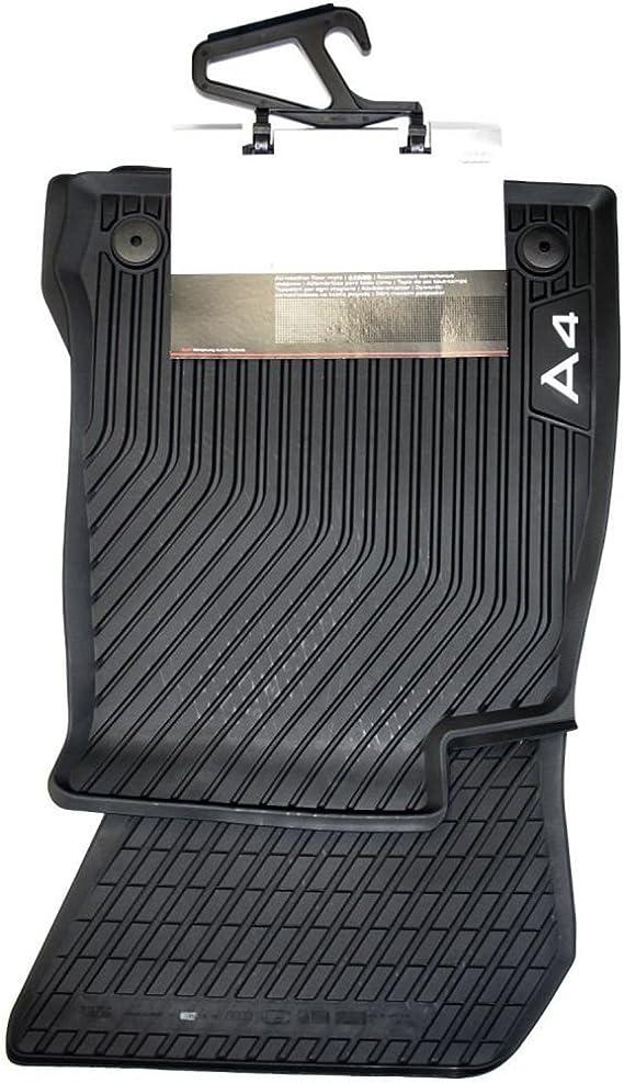 OREALTECH Fu/ßmatte Auto f/ür A4 8W2 B9 8WH 8W5 2017 2018 2019 Allwetter XPE Leder Autoteppich 3D All-Inclusive-Stil Automatte vorn und hinten