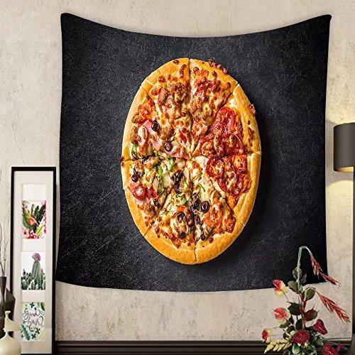 Grace Little Custom tapestry mixture pizza italian food