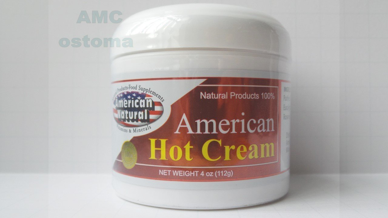 American Natural American Hot Cream 4 oz Excessive Body Fat Burner Reducer