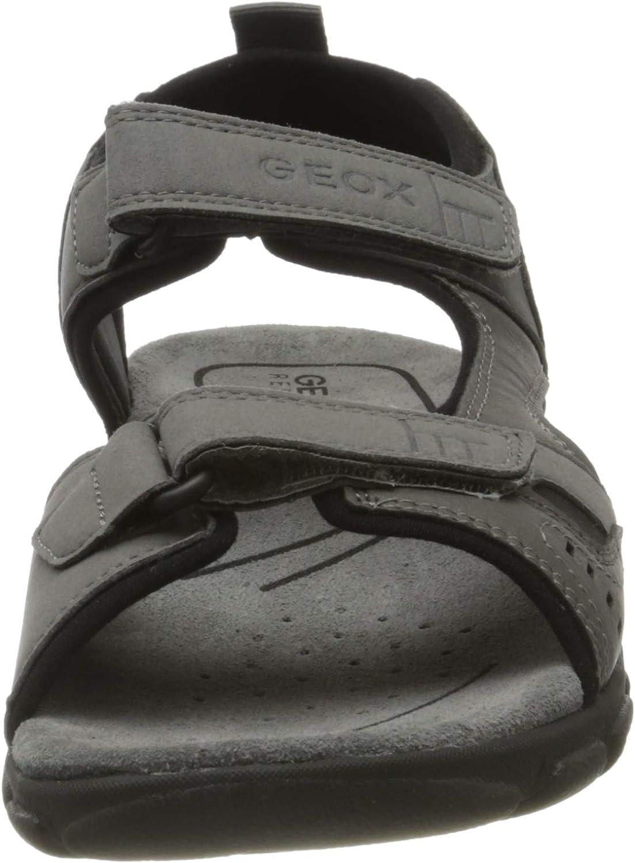 Geox Uomo Sandal Strada A Sandalias con Plataforma para Hombre
