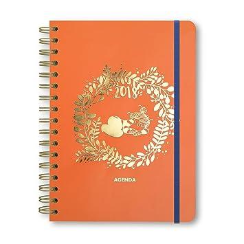 Busquets - Agenda Anual La Volatil 2018, Color: Naranja ...