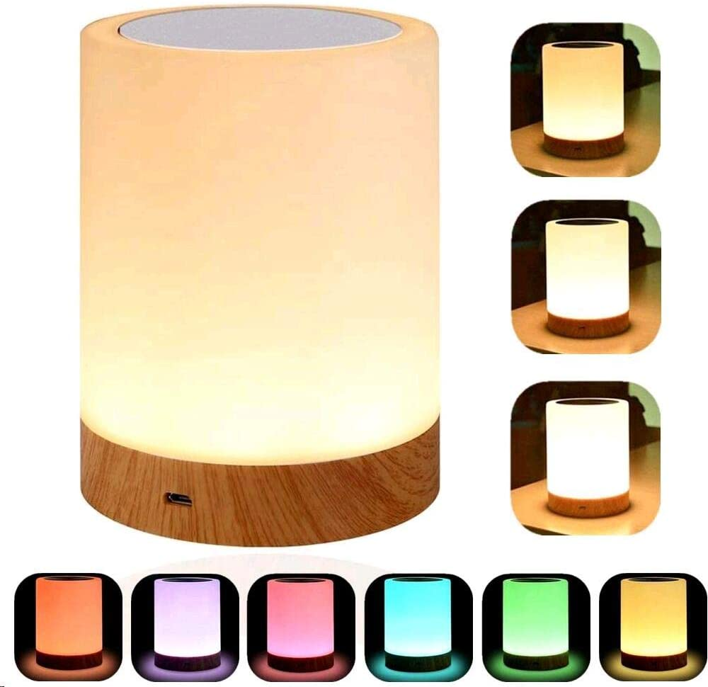 YSD Touch Lamp, Bedside Lamp & Table Lamp with Rechargeable