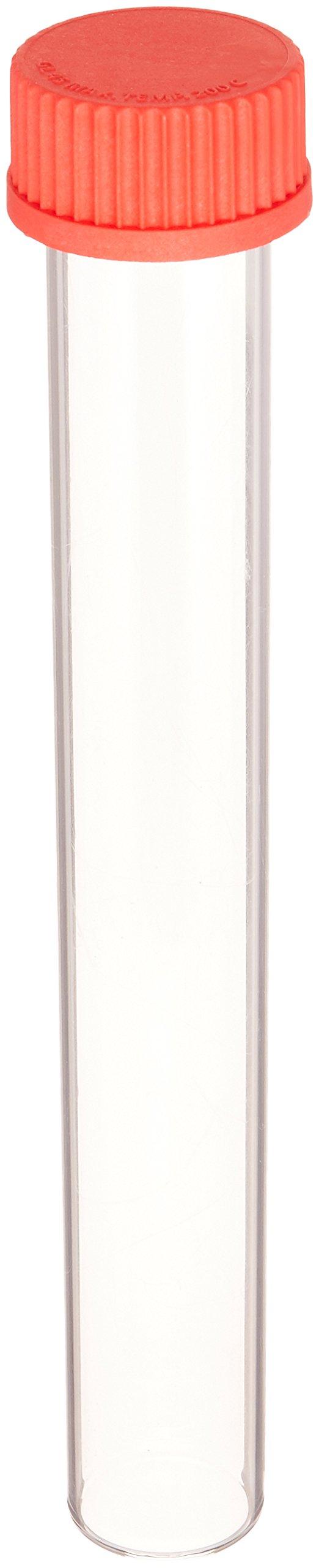 UVP Hybridizer 07-0194-02 Large Glass Borosilicate Hybridization Bottle with Cap for Hybridization Oven, 35mm Diameter x 300mm Length