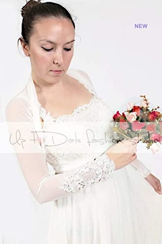 Bridal Wrap Wedding bolero Wedding Shrug Bridal Bolero in Tulle White or Ivory Wedding Cover Up