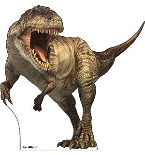 135cm Tall Blue STAR CUTOUTS SC1280 Official Jurassic World Raptor Dinosaur Multi Colour