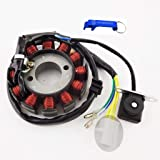 tc-motor 12 coils ignition stator magneto for 4 stroke gy6 125cc 150cc  moped scooter