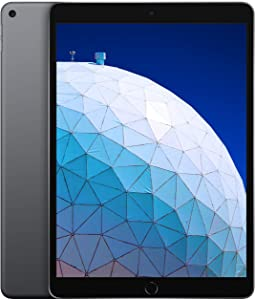 Apple iPad Air (10.5-inch, Wi-Fi, 256GB) - Space Gray (Renewed)