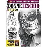 DONNE TESCHIO Skull Women Illustration / Tattoo Flash Book Books / Tattoo Flash Art