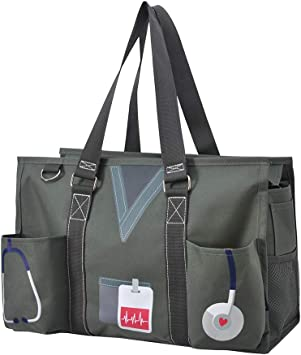 Nurse Theme NGIL Large Canvas Tote Bag