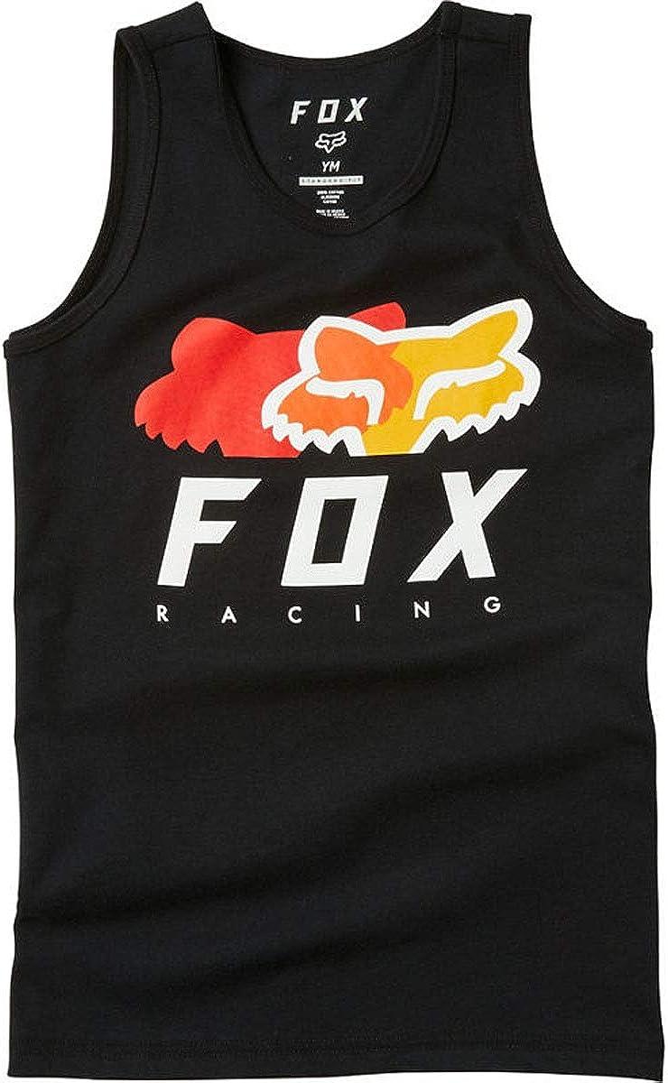 Fox Colore Nero Canotta da Bambino Chromatic