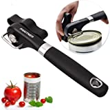 PAKITNER- Safe Cut Can Opener, Smooth Edge Can Opener - Can Opener handheld, Manual Can Opener, Ergonomic Smooth Edge, Food Grade Stainless Steel Cutting Can Opener for Kitchen & Restaurant