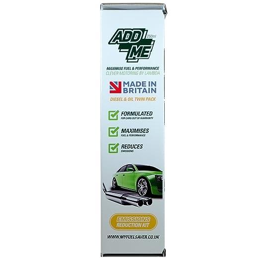 ABS Lambda Ltd Add Me Emissions Reduction Kit - Diesel & Oil Twin Pack