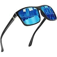 GS&GM Square Polarized Sunglasses HD Vision Polarized Sunglasses Aviator Sunglasses