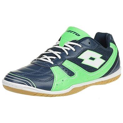d548481c1 Amazon.com | Lotto TACTO 500 III Men Indoor Trainers blue T6930 | Shoes