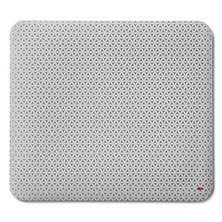"""3M Precise Mouse Pad Enhances the Precision of Optical Mice at Fast Speeds and Extends the Battery Life of Wireless Mice up to fifty percent"""", 9 in x 8 in (MP114-BSD1)"""